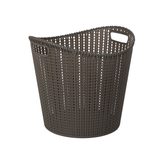 Alice Laundry Basket - Cocoa - 0