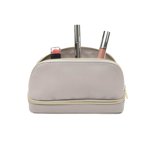 Stackers Makeup Bag - Taupe - 0