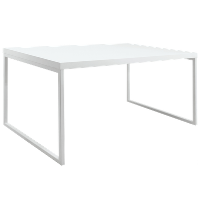 Brent Dining Table 1.5m with 4 Kate Dining Chairs - White - Image 2