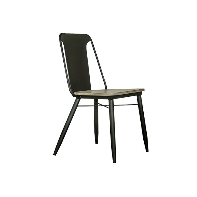 Ryland Concrete Dining Table 1.6m and 4 Starck Dining Chairs - 7