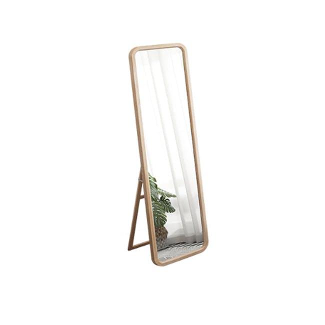 Keiji Standing Mirror 46 x 160 - Oak - 0