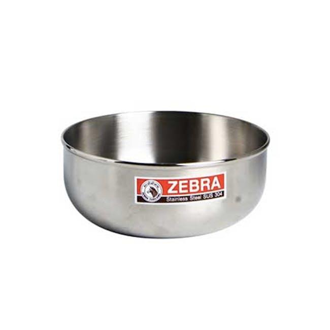Zebra Stainless Steel Water Bowl (4 Sizes) - 0