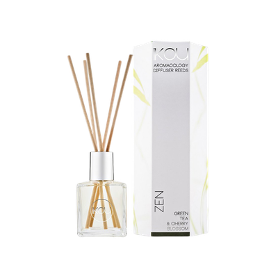 ZEN Reed Diffuser - Green Tea & Cherry Blossom - Image 2
