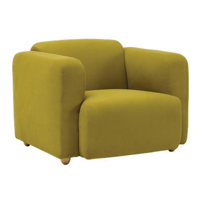Polo 1 Seater Sofa - Pickle - Image 2