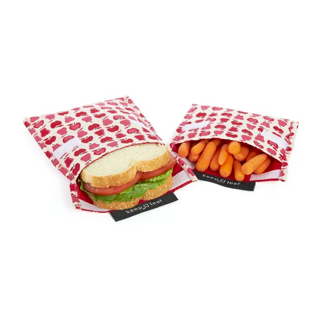 Reusable Snack Bag - Black and White (Size L) - 4