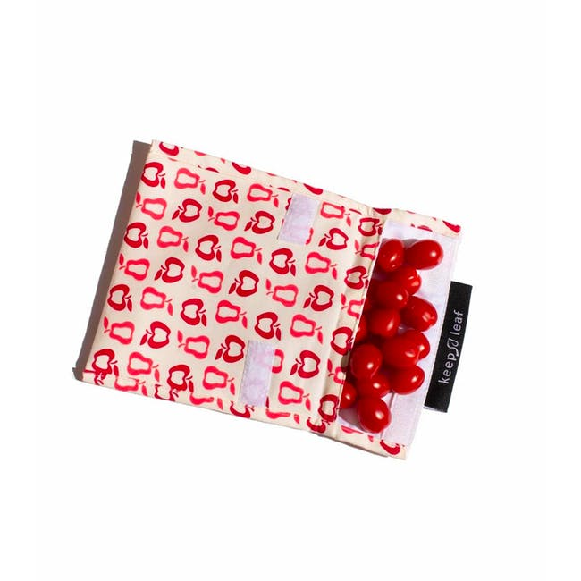Reusable Snack Bag - Black and White (Size L) - 2