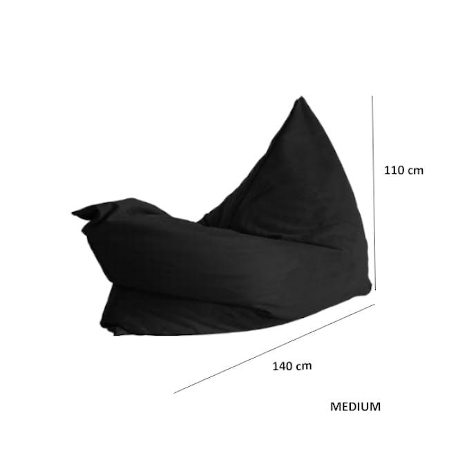 Vesuvius Bean Bag - Basalt (2 Sizes) - 2