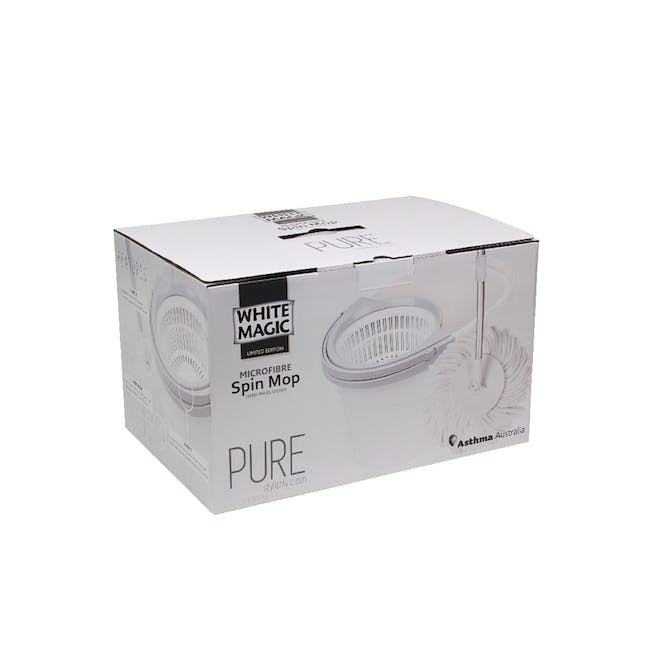Pure Spin Mop Set (2 Heads With No Extension) - 7