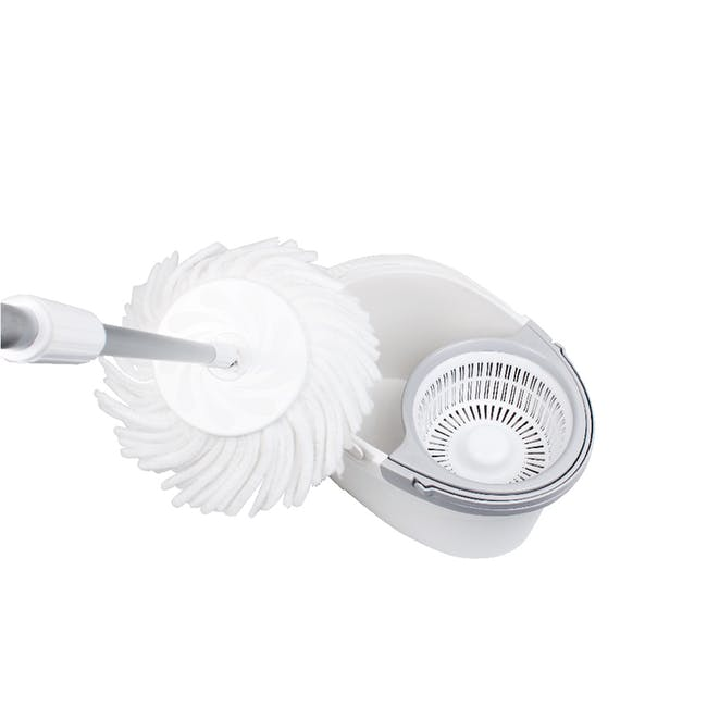Pure Spin Mop Set (2 Heads With No Extension) - 2