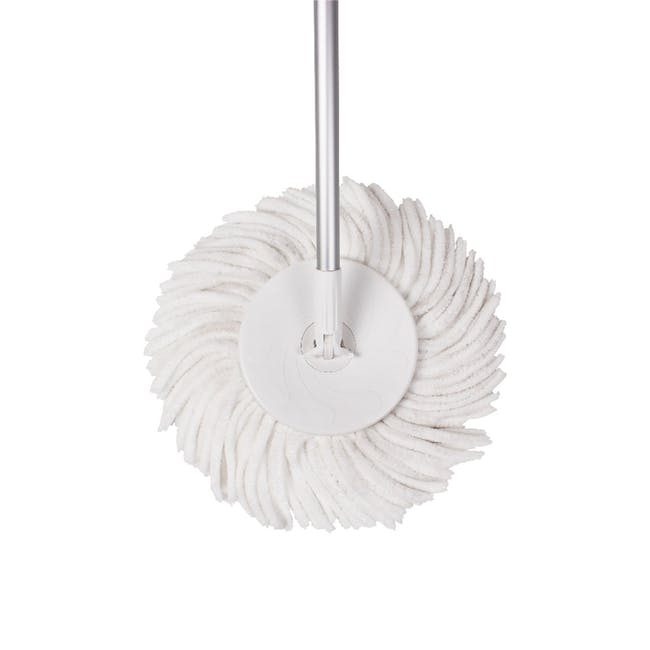 Pure Spin Mop Set (2 Heads With No Extension) - 5