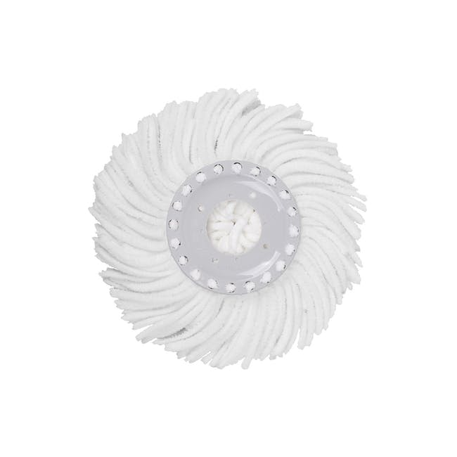 Pure Spin Mop Set (2 Heads With No Extension) - 6