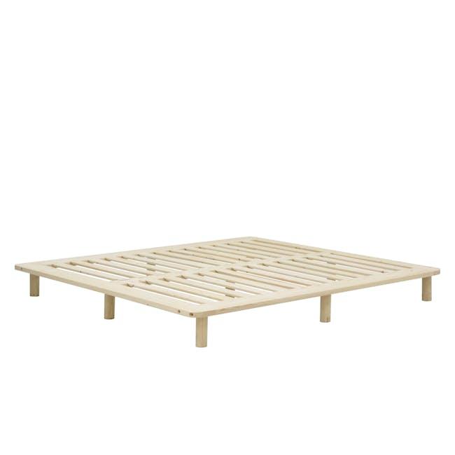 Hiro Queen Platform Bed - 10