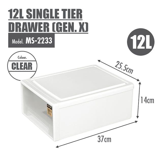 12L Single Tier Drawer (Gen.X) - 4