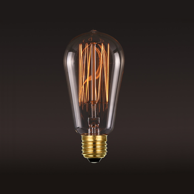 Edison ST64 Squirrel Cage Filament Bulb - Image 2