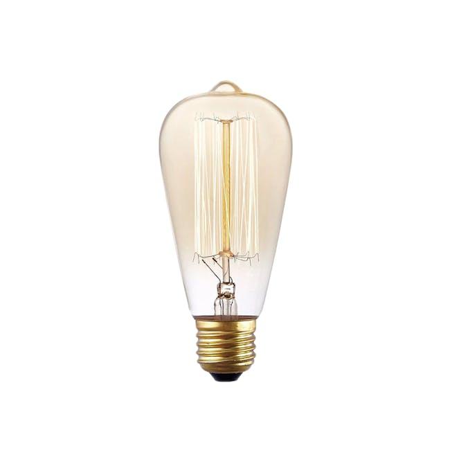 Edison ST64 Squirrel Cage Filament Bulb - 0
