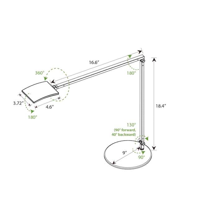 Koncept  Mosso Pro Desk Lamp - Black - 5