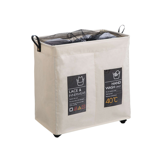 Cooper Laundry Hamper With Wheels