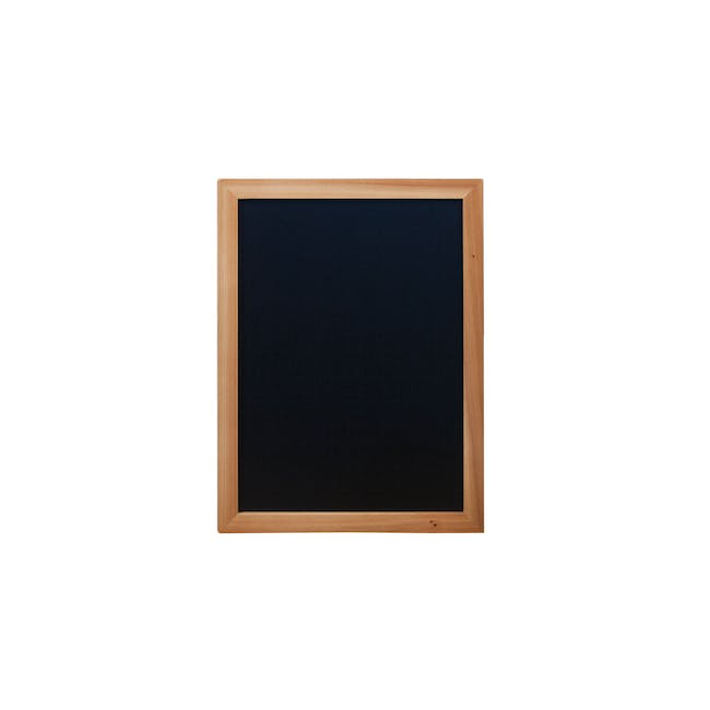 Securit Woody Chalkboard - Lacquered Teak Frame (5 Sizes) - 0