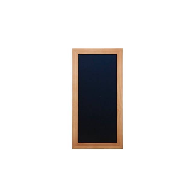 Securit Woody Chalkboard - Lacquered Teak Frame (5 Sizes) - 1