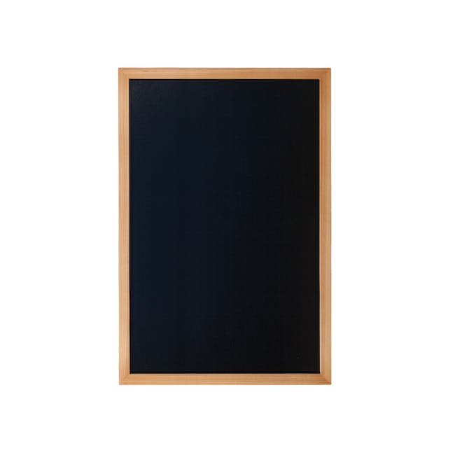 Securit Woody Chalkboard - Lacquered Teak Frame (5 Sizes) - 2