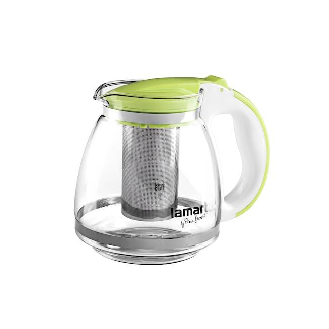 Lamart  Glass Tea Kettle 1.5L - Green - 0