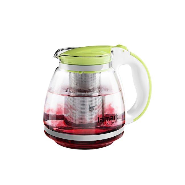 Lamart  Glass Tea Kettle 1.5L - Green - 3