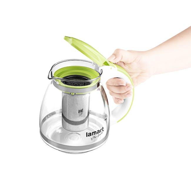 Lamart  Glass Tea Kettle 1.5L - Green - 1