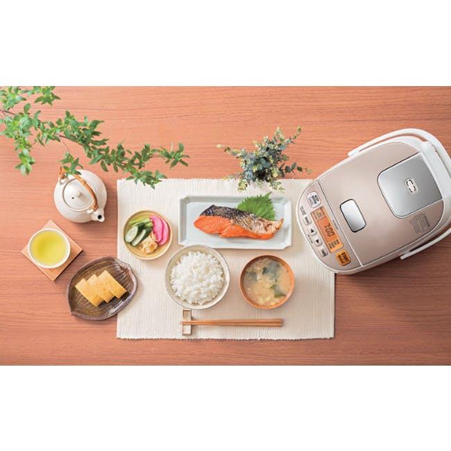 Zojirushi MICOM 0.54L Rice Cooker NL-BGQ- Champagne White - 1