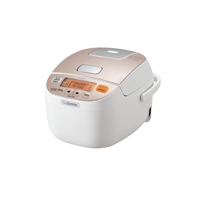 Zojirushi MICOM 0.54L Rice Cooker NL-BGQ- Champagne White - 0