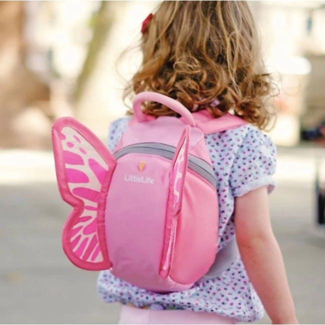 LittleLife Animal Toddler Backpack - Butterfly - 2