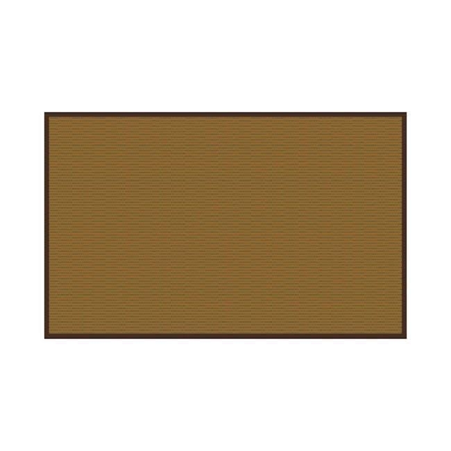 Natural Medium Reversible Mat 2.4m x 1.5m - Bamboo Green - 0