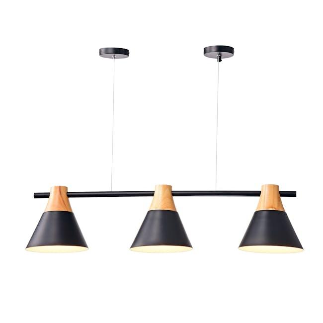 Thora Bar Pendant Lamp  - Black - 0