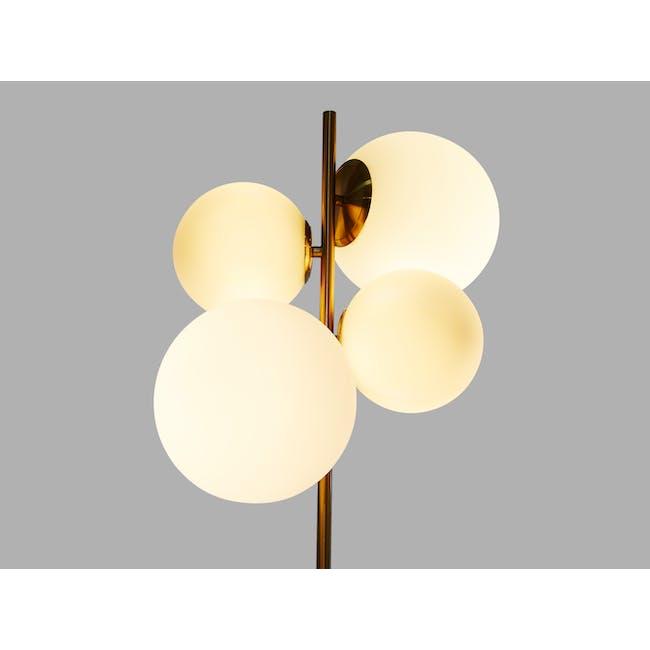 Luocco Marble Floor Lamp - White - 3
