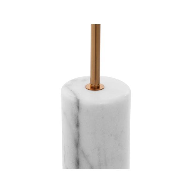 Luocco Marble Floor Lamp - White - 4