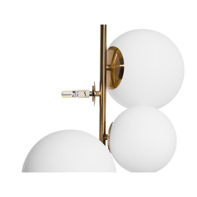 Luocco Marble Floor Lamp - White - 6