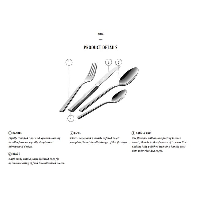 Zwilling King 16pc Cutlery Set - 1