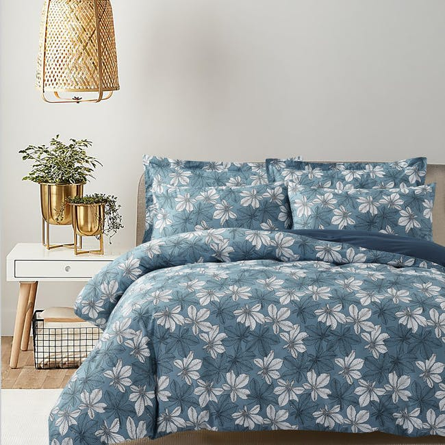 Marie Claire Lumine Cotton Printed Bed Set - Alvina (2 Sizes) - 0