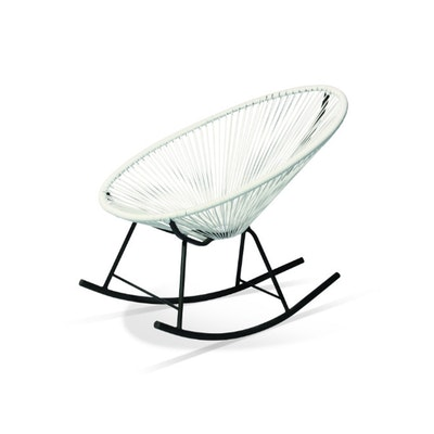 Acapulco Rocking Chair - White