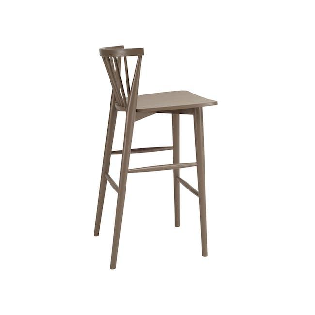 Birdy Bar Chair - Sage Green - 1