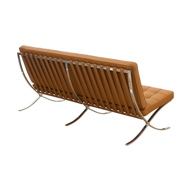 Barcelona 3 Seater Sofa Replica - Tan (Genuine Cowhide) - 3