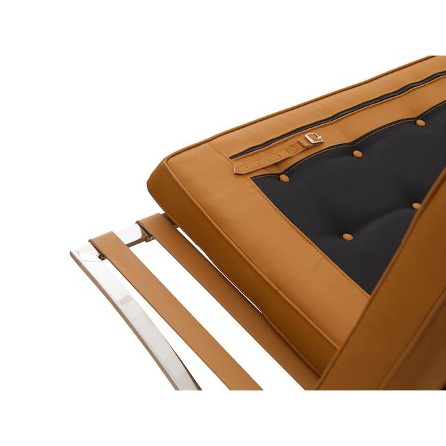 Barcelona 3 Seater Sofa Replica - Tan (Genuine Cowhide) - 5