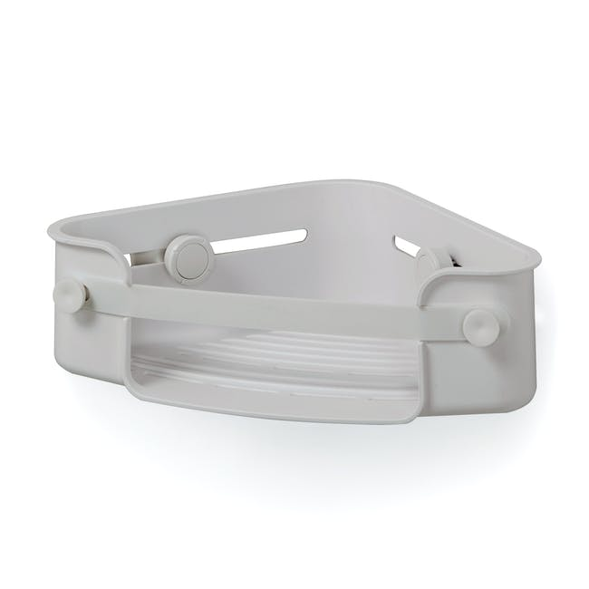 Flex Gel-Lock Corner Bin - Grey - 1