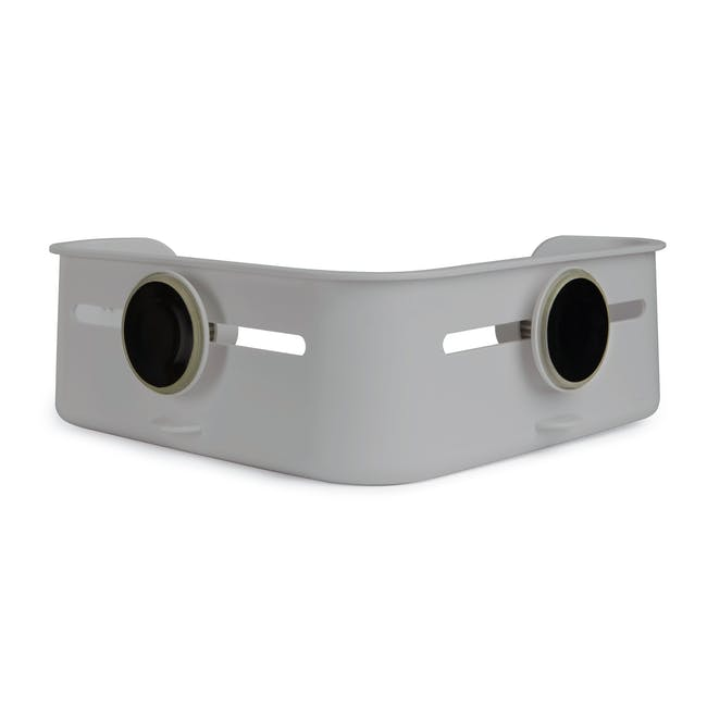 Flex Gel-Lock Corner Bin - Grey - 3