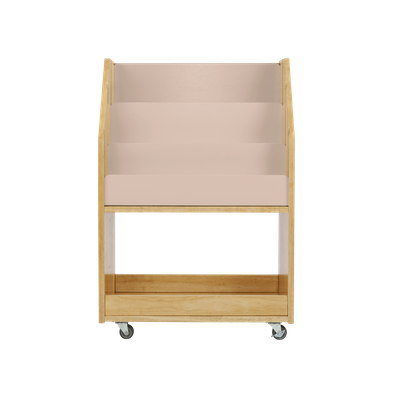 Julian Bookshelves - Natural, Blush - Image 1