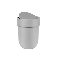 Touch Can with Lid - Grey