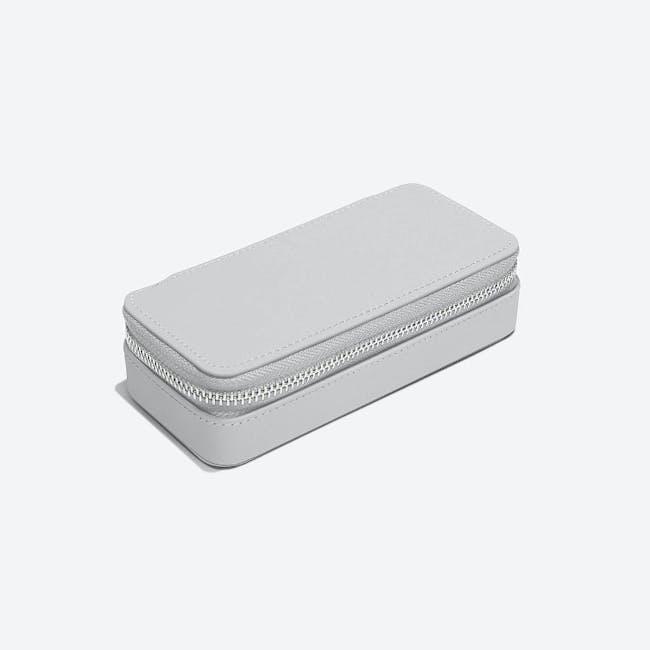 Medium Travel Jewellery Box - Pebble Grey - 2