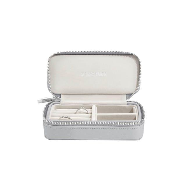 Medium Travel Jewellery Box - Pebble Grey - 0
