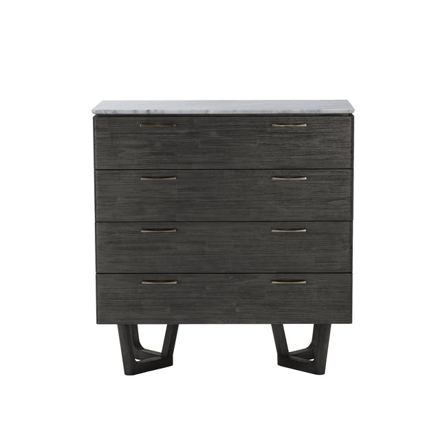 Carson Marble 4 Drawer Chest 1m - 0