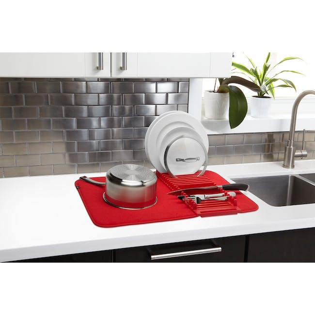 Udry Drying Mat - Red - 2