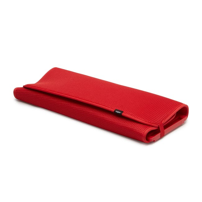 Udry Drying Mat - Red - 3